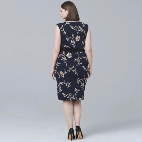 Casual Printed Plus-size Dress
